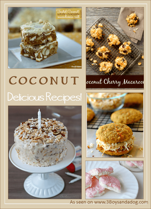 Over 40 Coconut Recipes