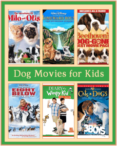 family favorite, kid friendly, movies about dogs