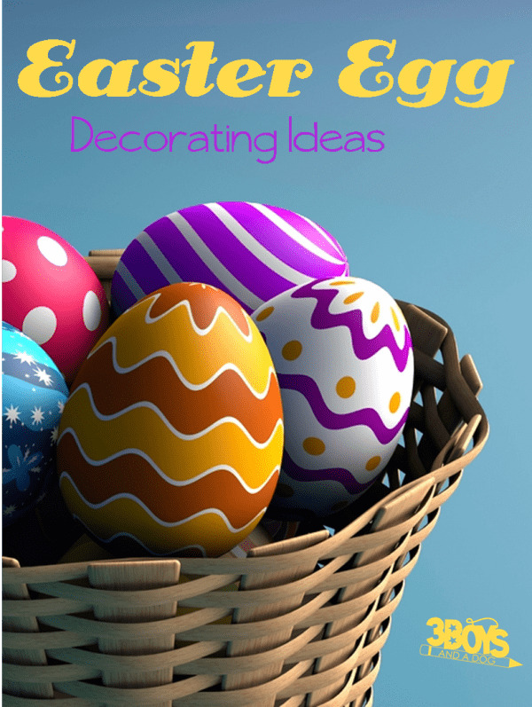 easy, last minute decoration ideas for your easter eggs