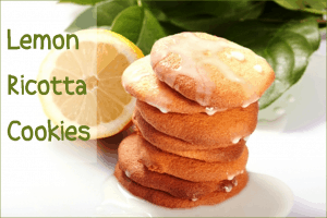 delicious lemon cookies with ricotta cheese & sweet glaze