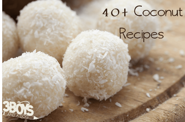 40+ coconut recipes perfect for easter dinner