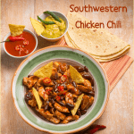 crockpot chicken chili with TexMex spice