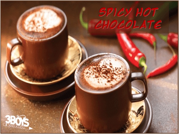 hot cocoa recipe with spice