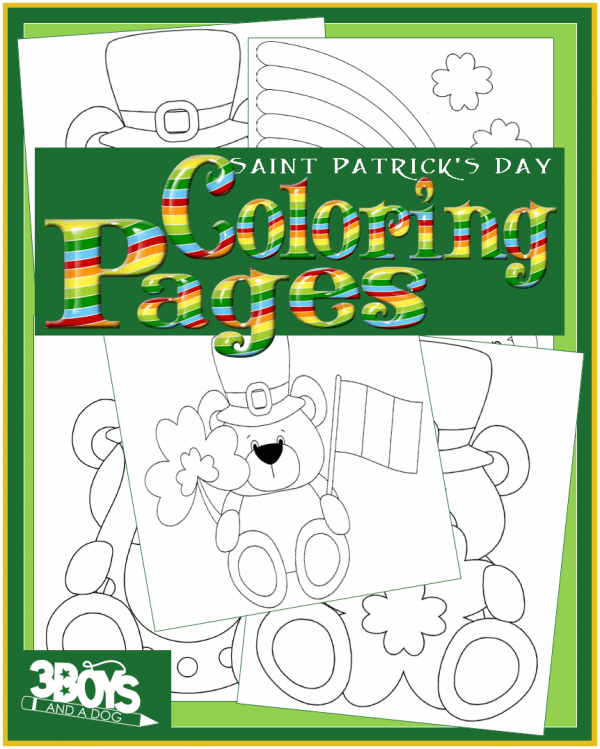 Coloring Books for St. Patricks Day