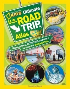 National Geographic Road Trip Atlas For Kids $4.37