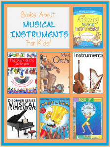 Books About Musical Instruments for Kids