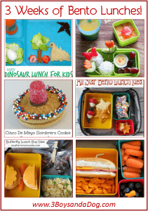 15 bento lunch recipes for kid lunches