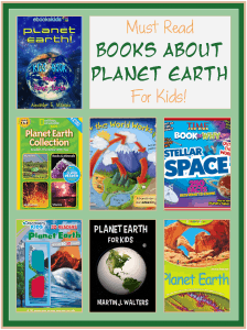 These Books about Planet Earth for Kids will help you tell the children everything there is to know about our great World.