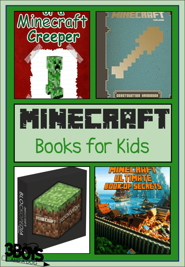 books about Minecraft for children