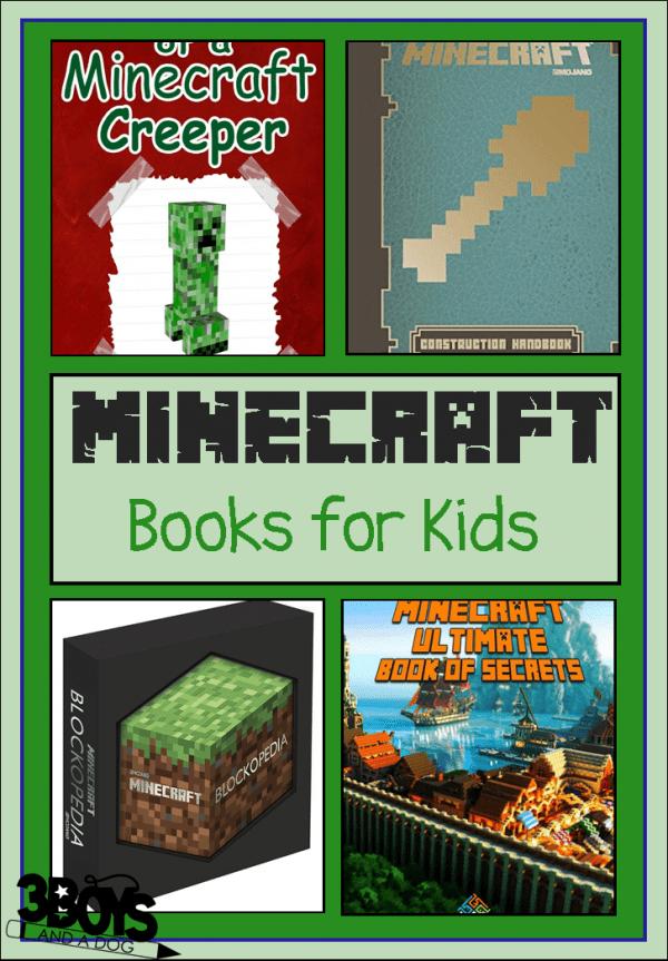 books about Minecraft for children