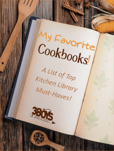 a list of my favorite cookbooks that I recommend every busy Mom have in her kitchen library