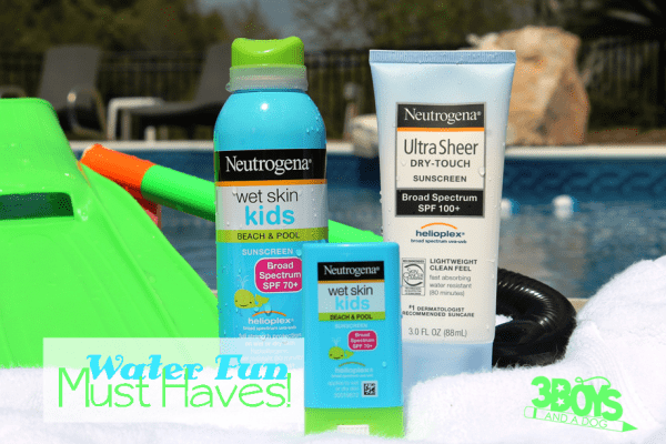 Water Fun Must Haves