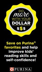 Increase literacy awareness with Dollar General and  Purina