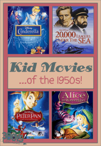 Kids Movies of the 1950s