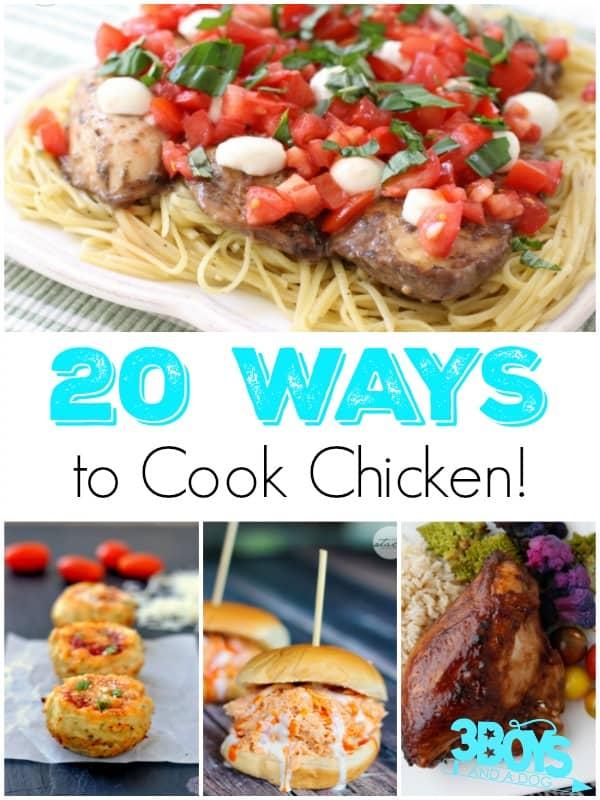 20 Ways to Cook Chicken