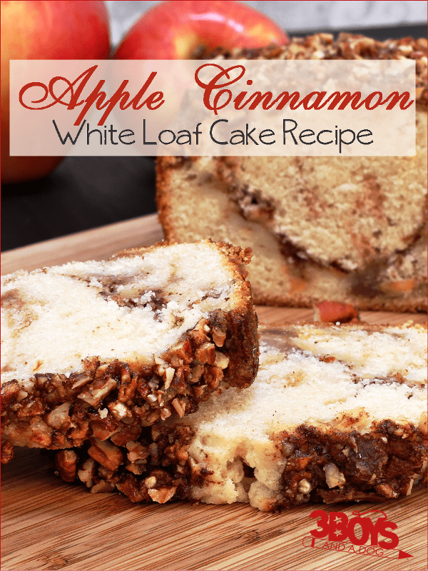 Apple Cinnamon White Cake
