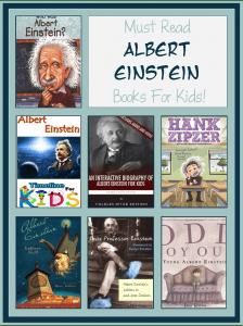 Books about Albert Einstein for Kids