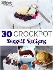30 Crockpot Dessert Recipes