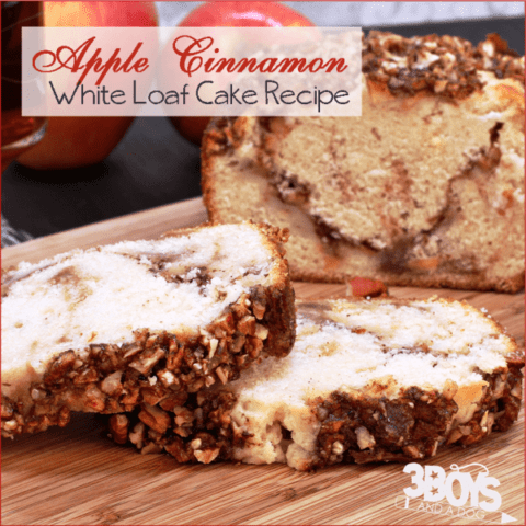 Delicious Apple Cinnamon White Cake