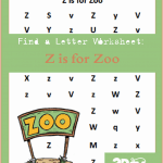Find the Letter: Z is for Zoo