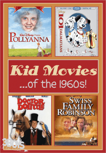 1960s movies for kids