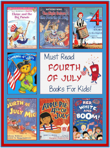Books about Fourth of July for Kids