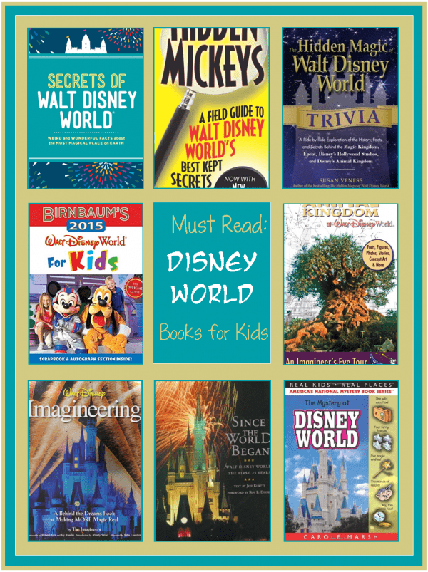 LEarn Disney's secrets in these Childrens Books about Disney World