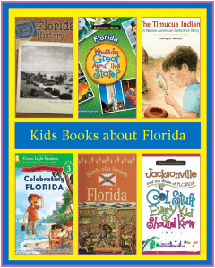 Educational (and Fun) Books about the State of Florida written for kids!