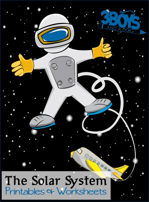 Solar System for Kids Printables and Worksheets