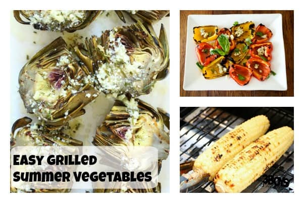 easy grilled summer vegetables