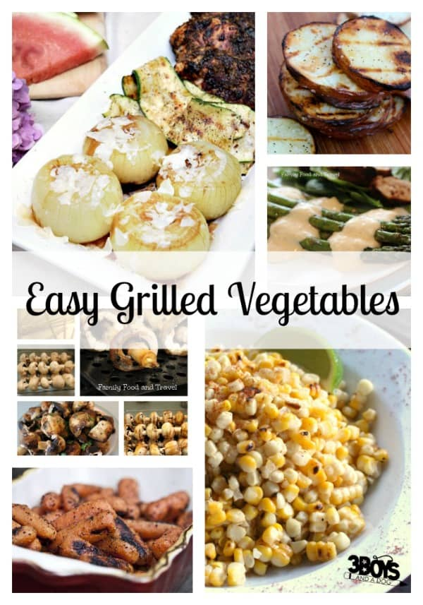 easy grilled vegestables