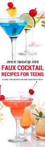 over 25 virgin cocktail recipes for teenagers