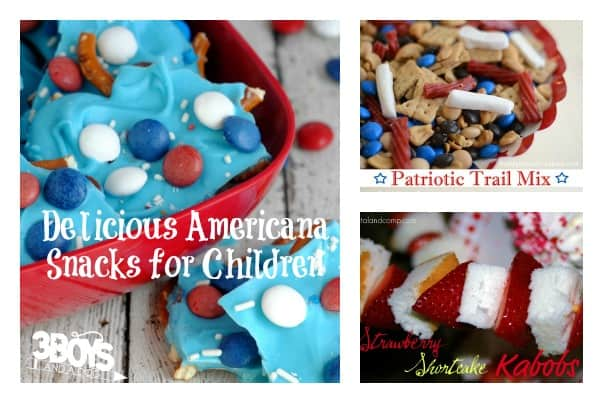 Delicious Americana Snacks for Children