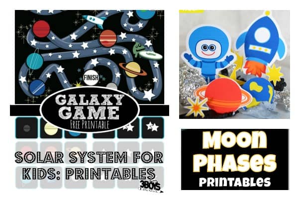solar systems for kids printables