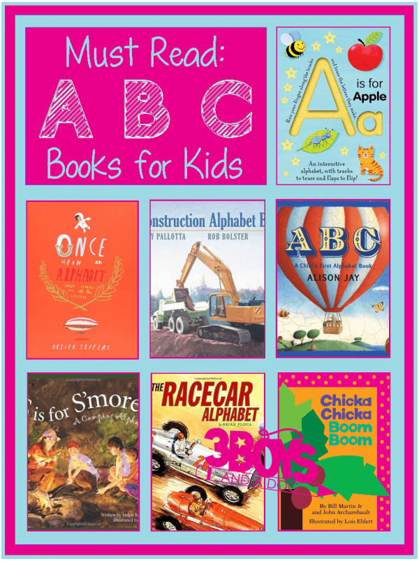 Books to help your child learn his (or her) ABCs