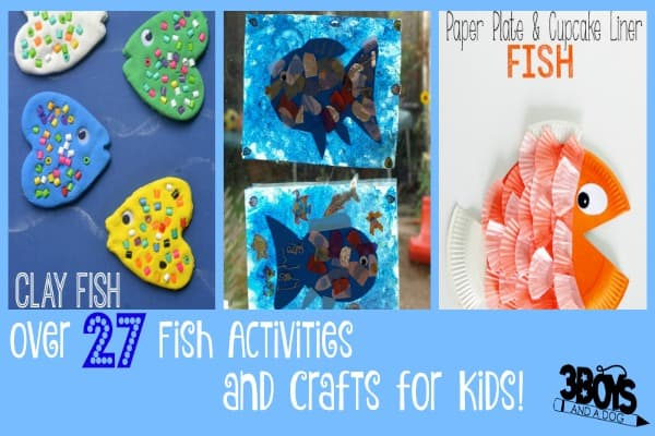 Fish Themed Crafts for Kids