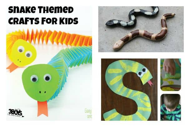 Snake Themed Crafts For Kids