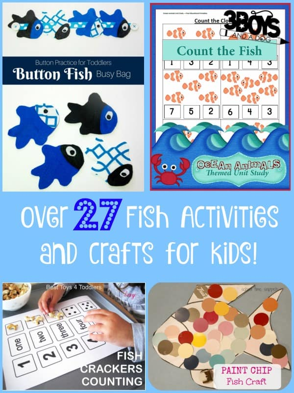 Something is Fishy Kids Activities