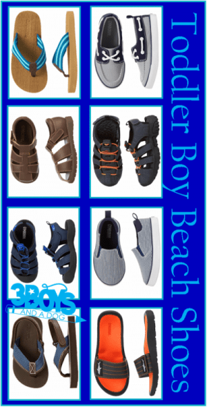 Toddler Beach Shoes for Boys