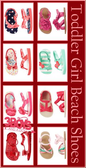 toddler girl beach shoes