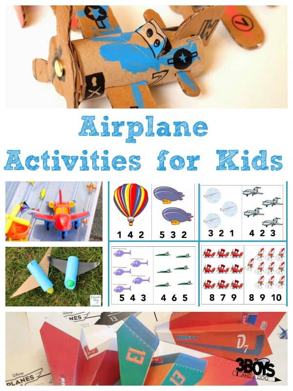 airplane activities for kids