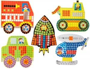 Little Hands Zoom Zoom Mosaic $8.28