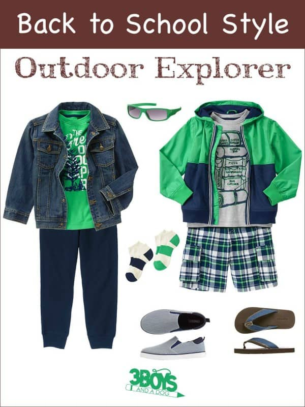 Outdoor Explorer: Back to School Style for Boys