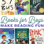grab some of these fun books for boys