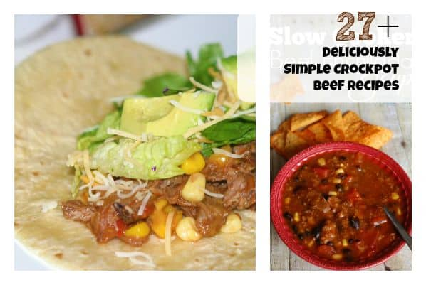deliciously simple beef crockpot recipes