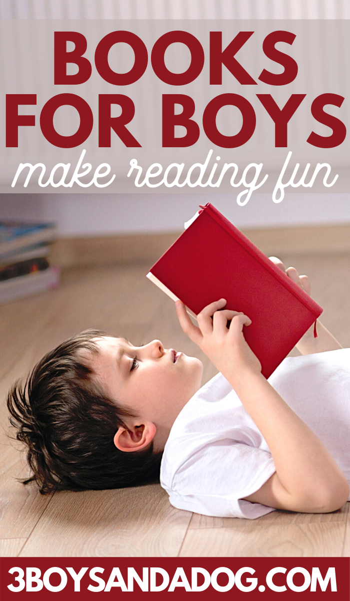 books for boys make reading fun for our guys