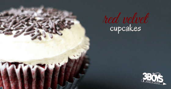 The Best Red Velvet Cupcake Recipe: a light and airy cake with a rich chocolate flavor and tangy, not-too-sweet cream cheese frosting. Simply the best.
