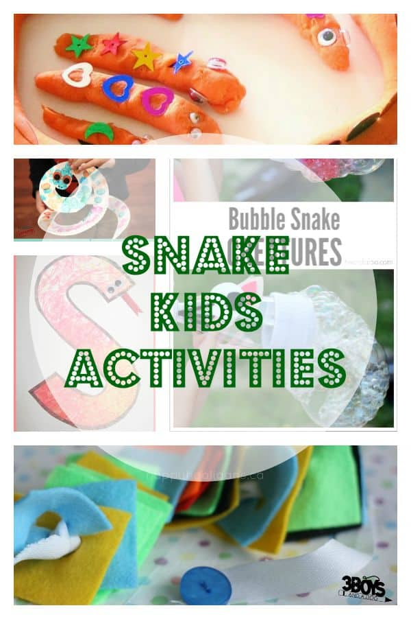 snake kids activities