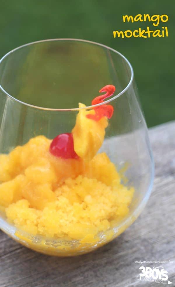 Mango Mocktail Recipe
