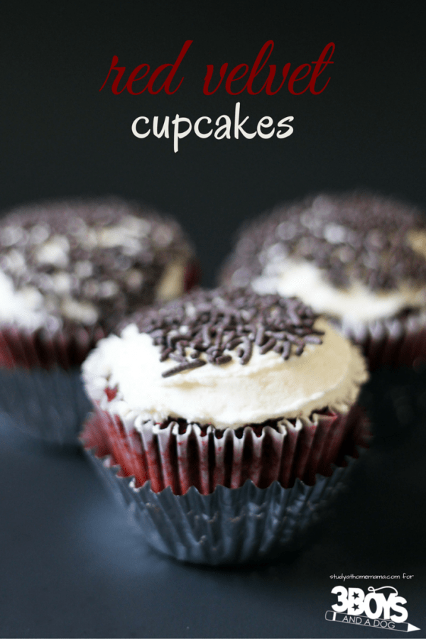 The best red velvet cupcake recipe that you will ever make! These red velvet cupcakes are light and airy with a rich flavor